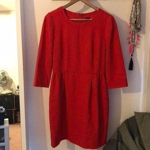 J. Crew dress. Size 6 like new.